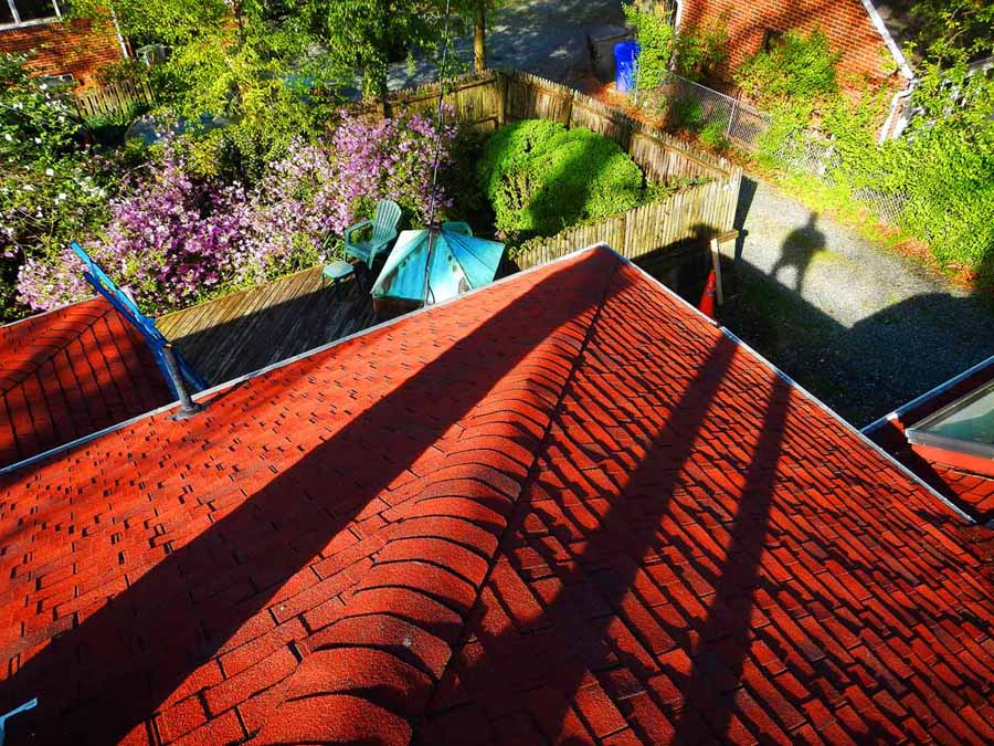 Roof and Flashing Inspection